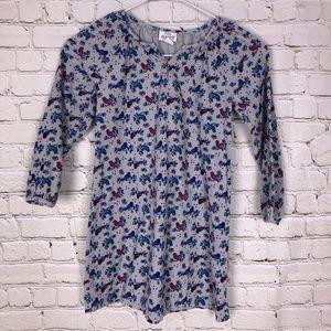 Little Maven bird dress size 6Y 6